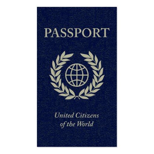 passport pack of standard business cards