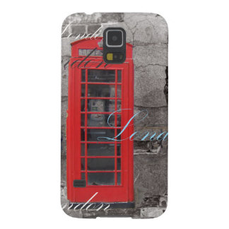 passport stamps London Red Telephone Booth Galaxy S5 Covers