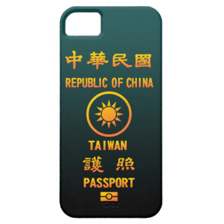 PASSPORT (TAIWAN) CASE FOR THE iPhone 5