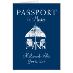 Passport to Mexico Wedding