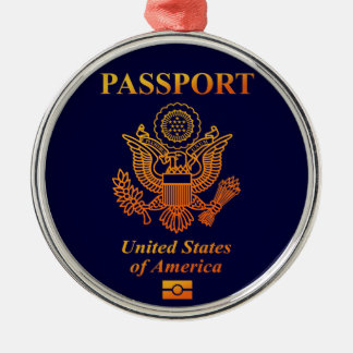 PASSPORT (USA) CHRISTMAS ORNAMENT