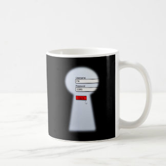 Password Security Coffee Mug