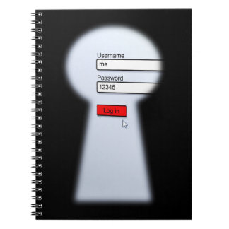 Password Security Note Books