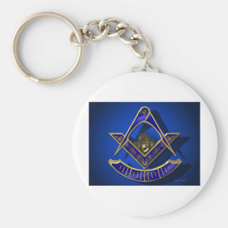 Past Master Products Basic Round Button Key Ring