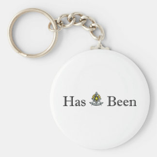 Past Masters Basic Round Button Key Ring