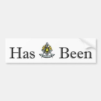 Past Masters Bumper Sticker