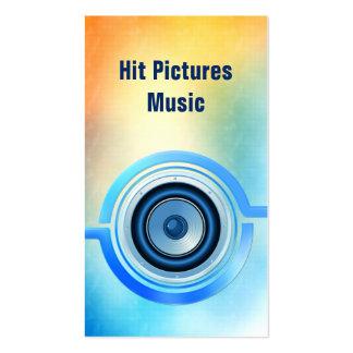 Past Present Musician Deejay Vertical Bsns Cards Pack Of Standard Business Cards