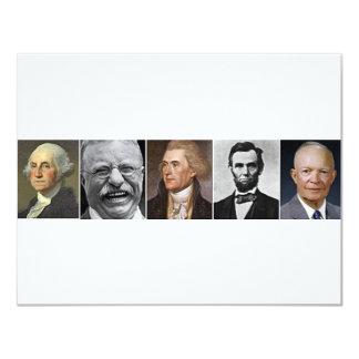 Past Presidents 11 Cm X 14 Cm Invitation Card
