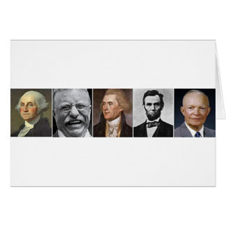 Past Presidents Greeting Card