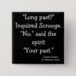 past-The Scrooge Collection 15 Cm Square Badge
