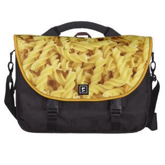 Pasta Background Laptop Bag