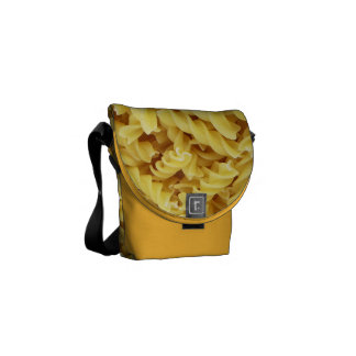 Pasta Background Commuter Bags