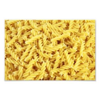 Pasta Background Photo Print