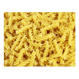 Pasta Background Postcard