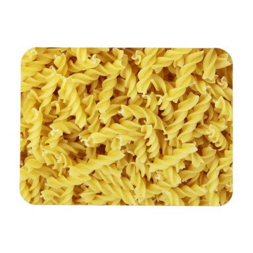 Pasta Background Flexible Magnet