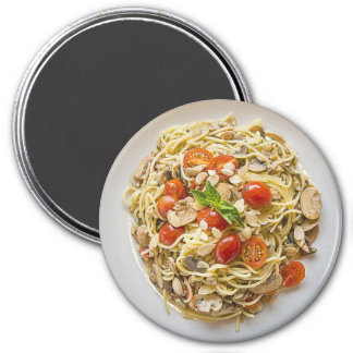Pasta Bowl Cherry Tomators Refrigerator Magnet
