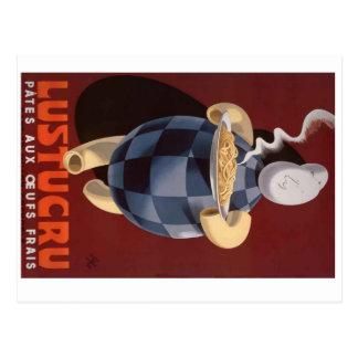 Pasta Boy Postcard