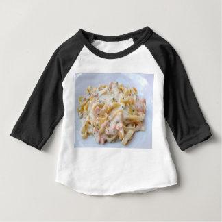 Pasta Custom Food Photo Baby T-Shirt