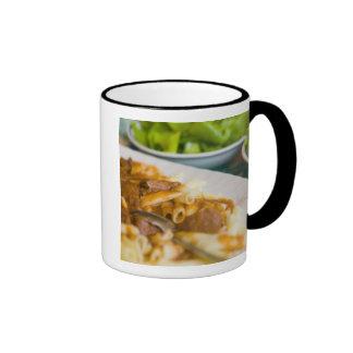 pasta dish, istria, Croatia, eastern Europe, Coffee Mugs