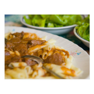 pasta dish, istria, Croatia, eastern Europe, Postcard