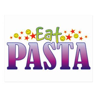 Pasta Eat Postcard