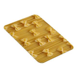 pasta rectangular photo magnet