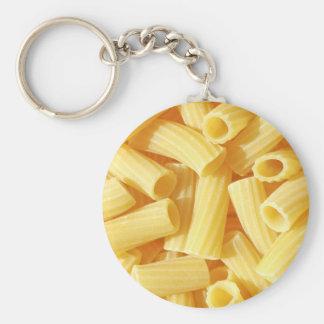 Pasta food key chain
