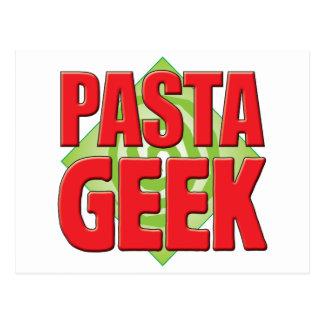Pasta Geek v2 Postcard