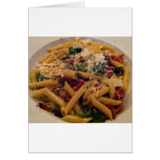 Pasta Greeting Card