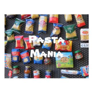 Pasta Mania Postcard