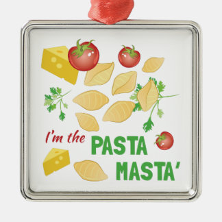 Pasta Masta Christmas Ornament
