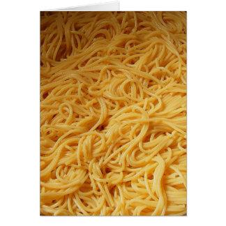 Pasta Night Dinner Invite Card