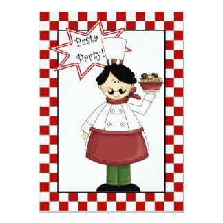 Pasta Party Invitation