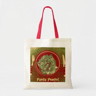 Pasta Pesto Canvas Bag