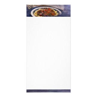 Pasta Photo Card