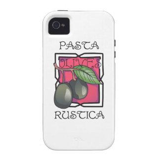 Pasta Rustica iPhone 4 Cover