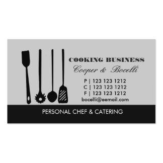 Pasta Spatula N Utensils Business Card Templates