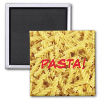 Pasta! Square Magnet