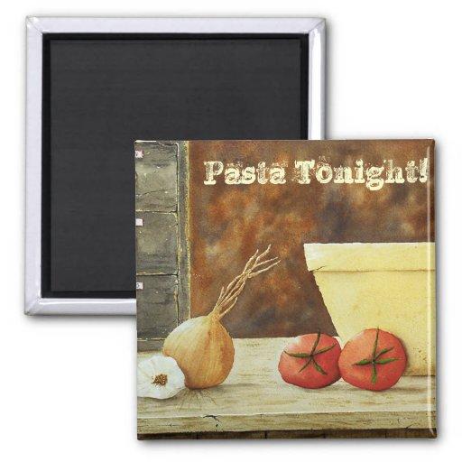 Pasta Tonight! Magnet