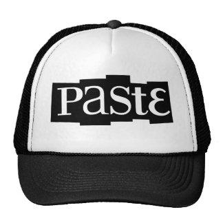 Paste Block Logo Black Hats