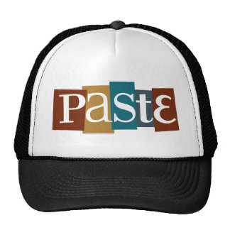Paste Block Logo Color Cap