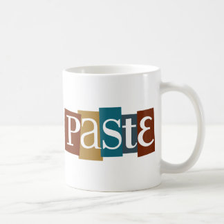 Paste Block Logo Color Coffee Mug