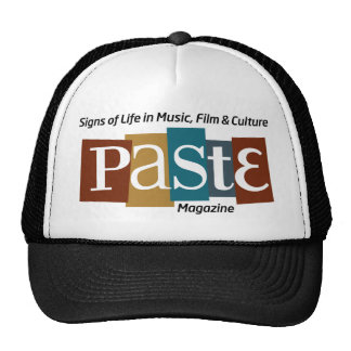 Paste Block Logo Mag and Tag Color Mesh Hats