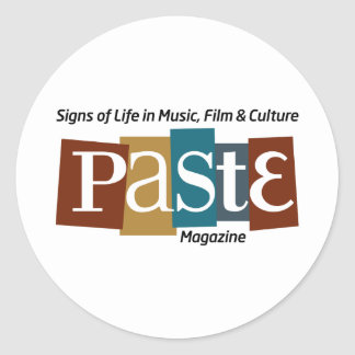 Paste Block Logo Mag and Tag Color Sticker