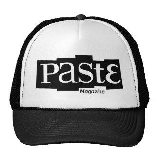 Paste Block Logo Magazine Black Hat
