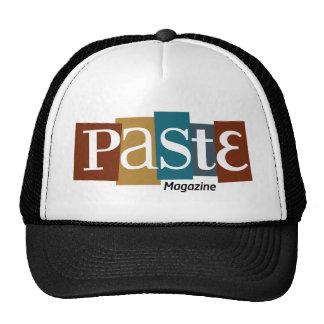 Paste Block Logo Magazine Colour Cap