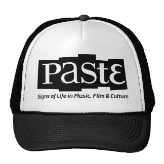 Paste Block Logo Tag on Bottom Black Cap