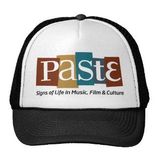 Paste Block Logo Tag on Bottom Color Hat