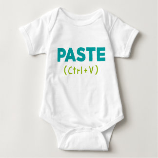 PASTE (Ctrl+V) Copy & Paste Baby Bodysuit