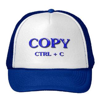 PASTE CTRL + Y TRUCKER HAT